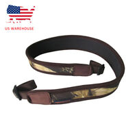 Tourbon Shotgun Rifle Sling Neoprene Camo Shoulder Strap Belt Hunting Accessory