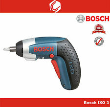 Bosch IXO III 3.6v LI-Ion Professional Cordless Pocket Screwdriver+12pcs Bit set