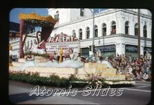 1953  kodachrome Photo slide Academy movie Theatre Pasadena CA rose parade #6