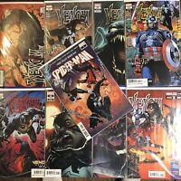 VENOM 25 27 28 29 FCBD SPIDER-MAN Variant LOT 1ST Virus CODEX Marvel Comic NM+