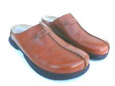Betula Birkenstock Fussbett Women's Leather Mules Shoes 39 EUR 8 - 8.5 US lknew
