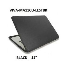 "GENUINE VIVA CUERO leather case for Macbook Air 11"",BLACK ,MA11CU-LESTBK"