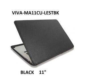 "GENUINE VIVA CUERO leather case for Macbook Air 11"",BLACK ,MA11CU-LESTBK"