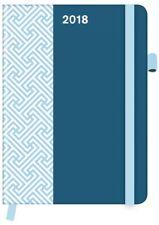 AGENDA - PETROL - 2018 - COOLDIARIES PATTERN -16 x 22 cm
