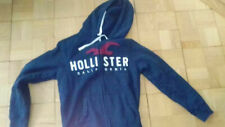 Original Hollister Pullover,Kapuzenjacke,Fleecefutter,blau,Gr.S