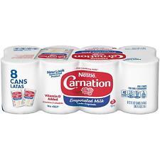 Nestle Carnation Evaporated Milk 12 oz ( Pack of 8 )