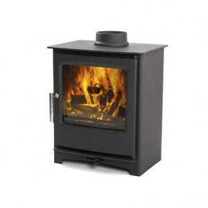 8kw Multi Fuel Wood Log Burning Stove DEFRA Approved Wood Burner