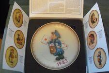vintage M.J.Hummel Gobel 1983 plate, In original box, Germany