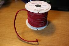"""Leather Suede Lace 1/8"""" x 25 yds Red (1 roll) Tandy Tejas . New"""