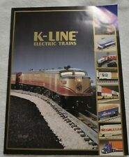 K-Line Electric Trains Catalog 1995 First Edition + Price List