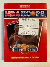 NBA Hoops Collect A Books Series 1 Box 1 Sealed Michael Jordan