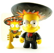 "Kidrobot The Simpsons Series 2 Mariachi Bart 3"" Vinyl Figure Art Toy w/ Card"