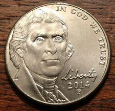 2014 P Jefferson Nickel Partial Collar Error 1437