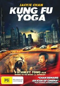 Kung Fu Yoga DVD - Brand new sealed (Region 4 Australia)