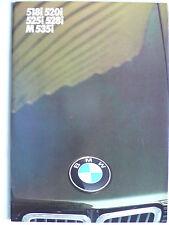Prospekt BMW 5er E 28 (518,520i,525i,528i,M535i), 2.1984, 48 Seiten