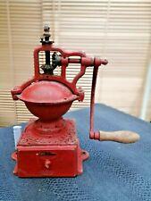 ancien moulin de comptoir à café ou poivre marque Peugeot en fonte