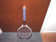Wilson Titanium Impact Tennis Racquet Power Bridge Soft Shock Racket Os 4 1/2