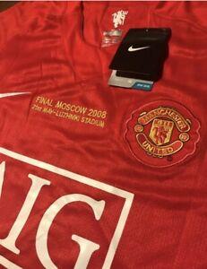 Manchester United Champions League Shirt 2004/Ronaldo 7 (Large)