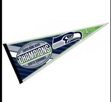 Seattle Seahawks Super Bowl XLVII Champions Pennant 2013 Russell Wilson