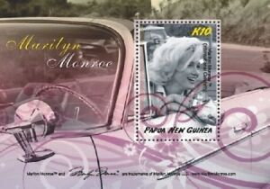 Papua New Guinea 2008 - Marilyn Monroe Stamp Souvenir sheet - MNH