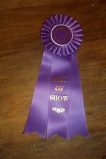 """Best of Show Large Rosette Ribbons High Quality 12"""""""