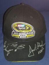 JACK ROUSH ERIK DARNELL COLIN BRAUN AUTOGRAPHED NASCAR ALL-STAR RACE XXV HAT CAP