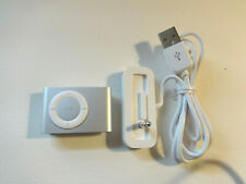 APPLE  iPOD  SHUFFLE  2ND GEN.  SILVER   1GB...NEW BATTERY...