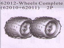 Hsp Rc Car 1/8  Truck Wheel Complete 62010 +62011 Part 62012 Black Rim