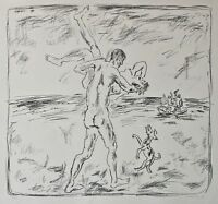 Manfred Gabriel - o. T. - Lithographie - 1972 - 9/60