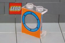 LEGO: Panel 1 x 2 x 2 Blue Porthole (#4864px16) **Two per Lot**