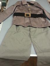 Children Civil War Confederate Csa Soldier Costume Uniform Size Medium