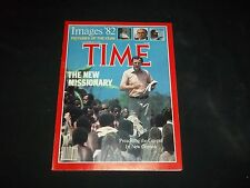1982 DECEMBER 27 TIME MAGAZINE - NEW MISSIONARY - BEAUTIFUL FRONT COVER - F 1897