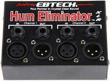 Ebtech HE-2-XLR Hum Eliminator Exterminator 2 Channel FREE EXPEDITED SHIPPING!