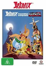 Asterix Conquers America New DVD Region 4 Sealed