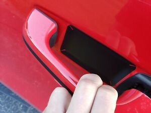 for New RAM 1500 2500 3500 door handle anti scratch protector film set kit 4pcs