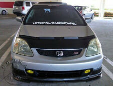 Car Bonnet Hood Bra Fits Honda Civic Hatchback 2002 2003 2004 2005 EP3