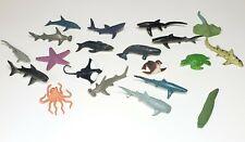 Safari Ltd Figures Lot Sharks Whales Dolphin Sea Animals