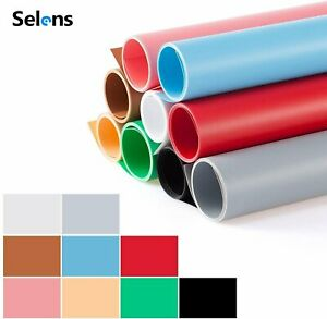 Photography Backdrop PVC Matte Background Paper F/ Photo Studio Product Shooting