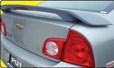 Fits 08-11 Chevrolet Malibu 4dr Custom Spoiler Wing Primer Un-painted