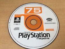 SONY PS1 DEMO DISC 75 - Sheep Dog N Wolf, Crash Bandicoot 3, Worms, Tintin