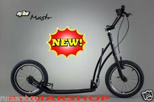 wow NIEUW ORIGINAL MIBO MASTR HANDMADE SCOOTER ROLLER STEP black