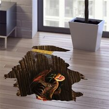 3D Drachen Motiv für Wand,Boden,Kinderzimmer,Abziehbild,Selbstklebend,