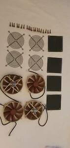 NOCTUA PC fans NF-P14 DC12V 1.20W 0.10W computer cooling grill dust filter PC