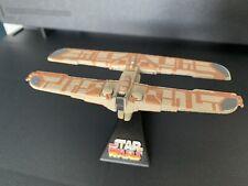 Star Wars Titanium Trade Federation Landing Craft ship diecast
