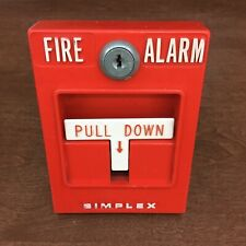 Simplex 4251-20 Vintage Fire Alarm Pull Station - Collectible