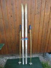 """NICE Ready to Use Cross Country 70"""" Long EDITION 180 cm Skis +  Poles"""