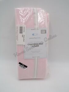 Pottery Barn Kids Luxe Chamois Changing Pad Cover Light Pink Nursery Baby #9846T