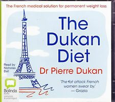 BOLINDA  AUDIO CDs: THE DUKAN DIET, DR PIERRE DUKAN,  read by Nicholas Bell