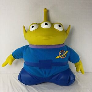 Vintage Disney Toy Story ALIEN Pizza Planet Talking Light-Up Plush Collectible