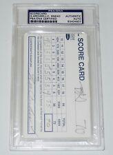 GEORGE ARCHER / JC SNEAD AUTOGRAPHED 1994 GOLF SCORECARD (PGA) - PSA DNA!